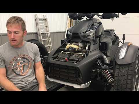 canam ryker 900 silber lightweight exhaust and ecu tuning dyno 10hp