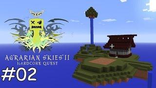 Minecraft Agrarian Skies 2 - E02 - Crops und Sieb [deutsch]