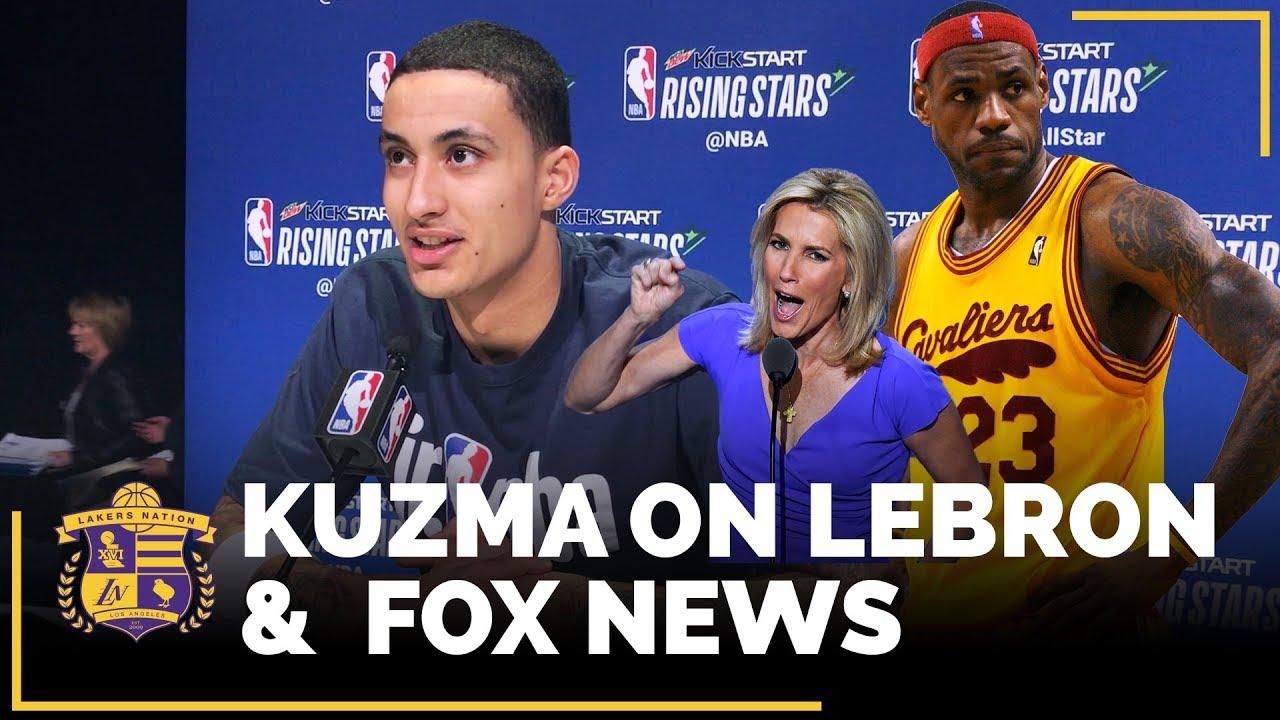 kyle-kuzma-talks-lebron-james-and-fox-news-host-laura-ingraham