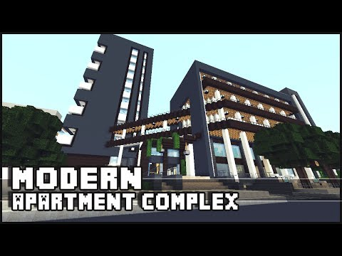Minecraft - Modern Apartment Complex & Shops