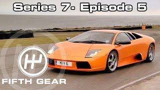 Fifth Gear Series 7 Episode 5 смотреть