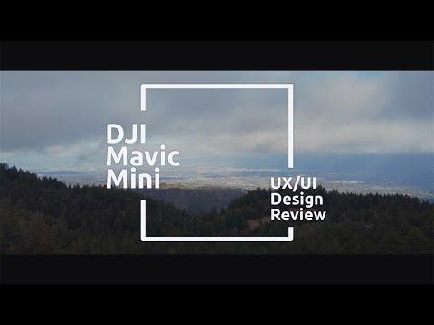 DJI Mavic Mini | Fly App | The 4 points of UX/UI Review