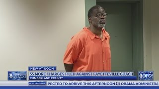 Former Fayetteville coach faces 55 new sex offense charges