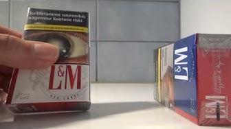 """L&M Virolainen edullinen savuke vs. suomalainen """"porvarisavuke"""""""