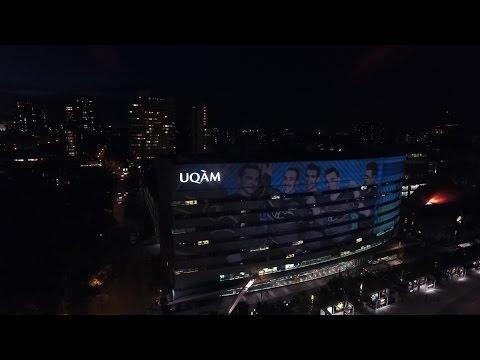 Montreal Night and Day  DJI PHANTOM 4 (First Flight)