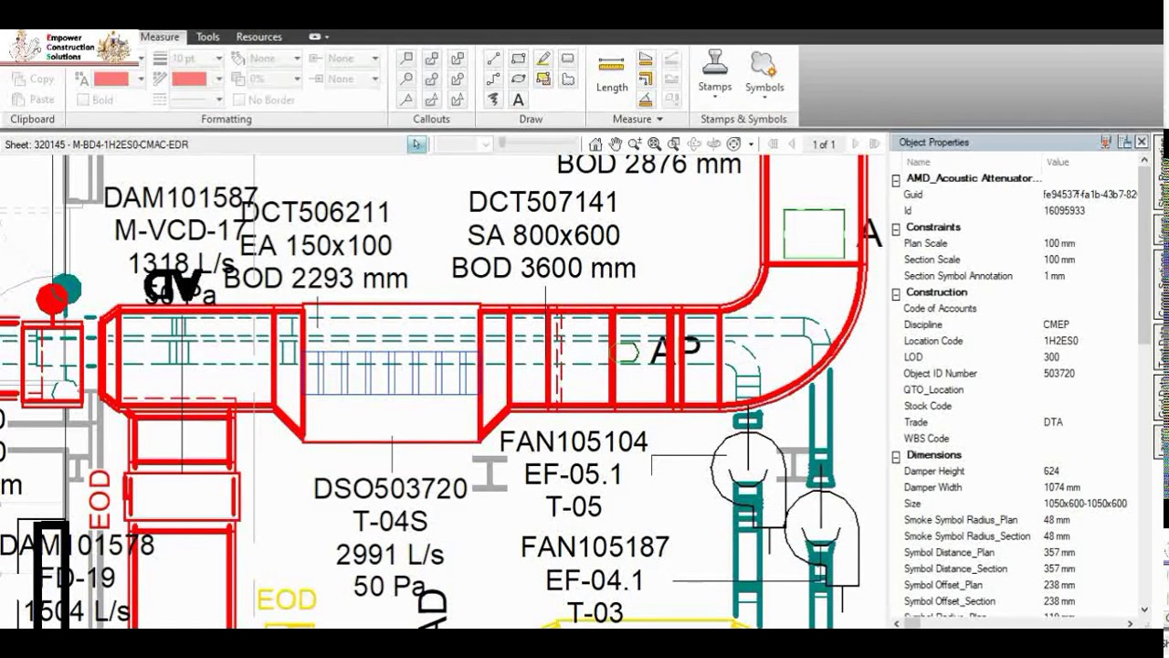 HVAC Drawing Review with Design Review Software| Easy way to read the  drawing - YouTube | Hvac Drawing Review |  | YouTube