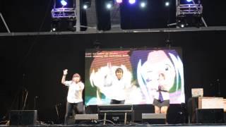 Team Kakumei en Comicopolis, Tecnopolis Argentina Fate Of the World...