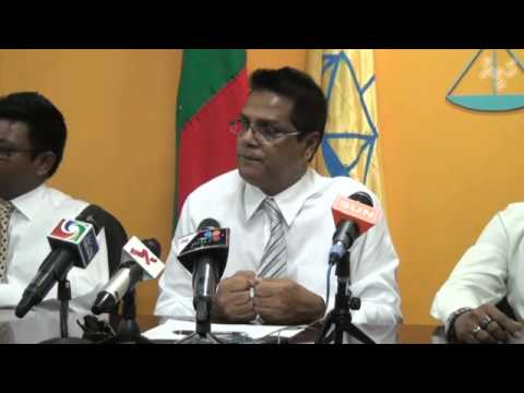 MDP press conference