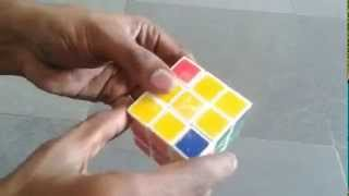 Rubik Cube 3x3 Solution in 3 steps