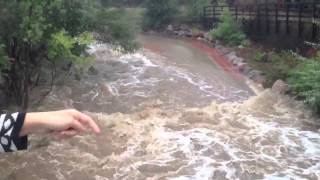 Boulder Flash Flooding - Huge Flood Boulder Colorado September 2013