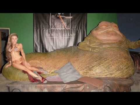 PRINCESS LEIA SLAVE BTS from YouTube · Duration:  1 minutes 42 seconds