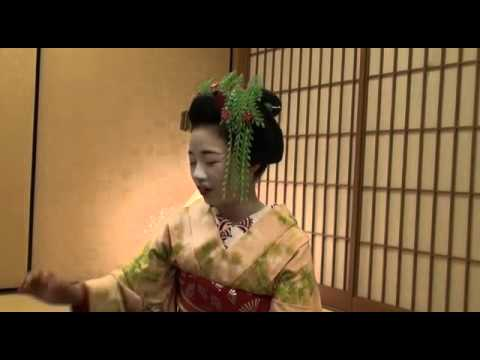 "The origin of Kyoto's most traditional place,""Kamishichiken"" and its ""crest"""