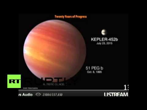 USA: NASA discover new Earth-like planet!