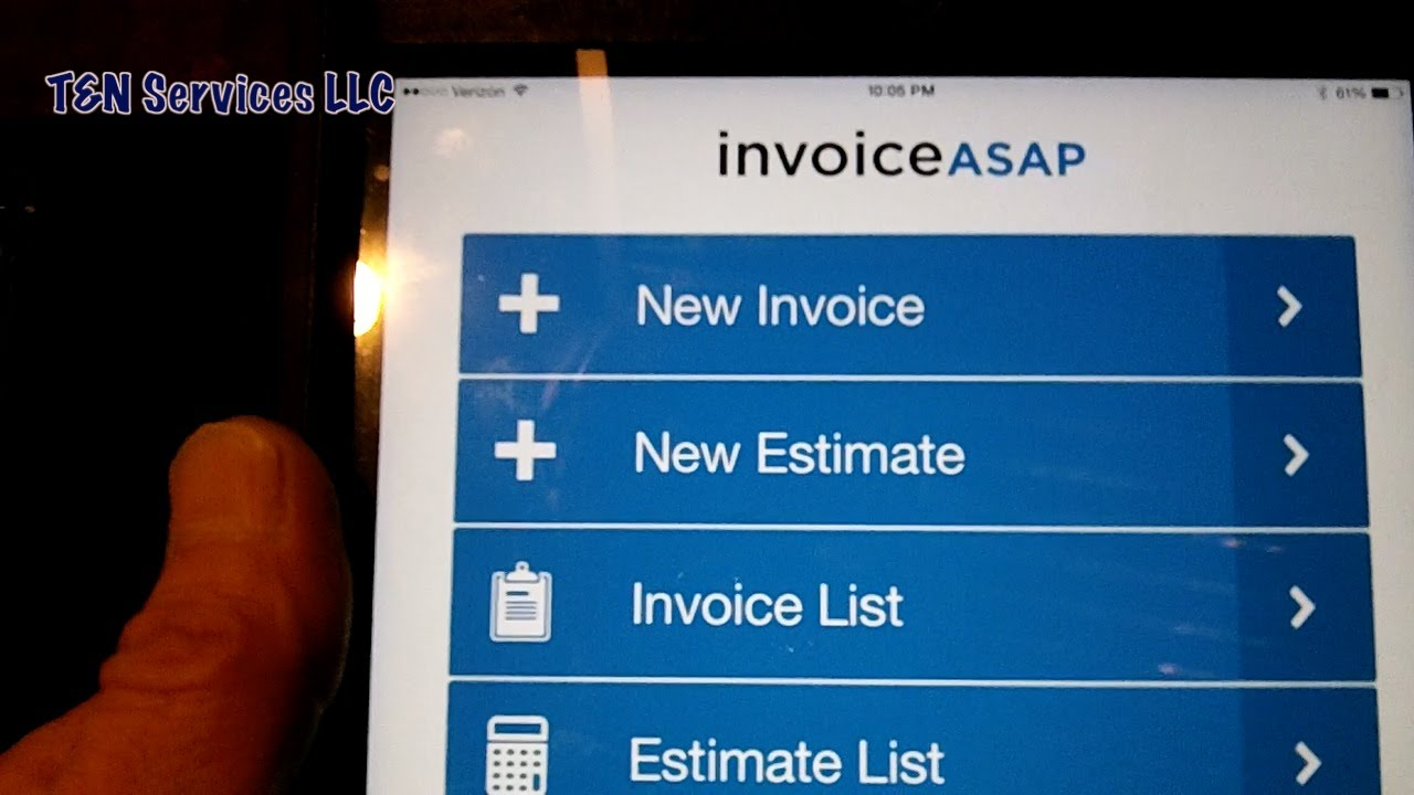 Using Invoice ASAP For The Small Business YouTube - Invoice asap