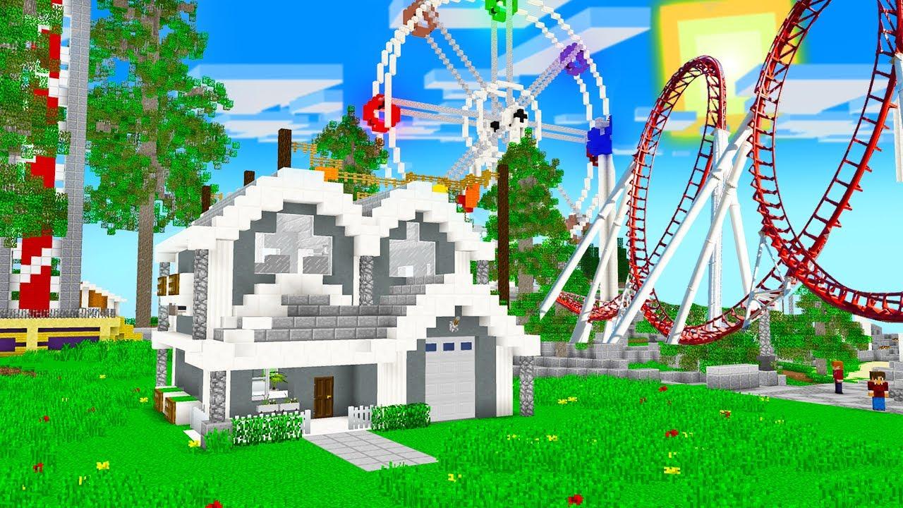 Download EVİM LUNAPARKIN İÇİNDE 😱 - Minecraft
