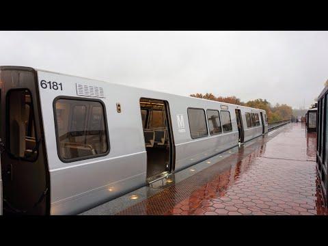 WMATA Metrorail Exclusive!!! Alstom 6000 Series Railcars #6180-6181 NEW Vinyl Wrap Ride