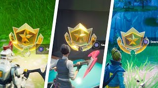 All Season 9 Secret Battle Stars Locations Guide - Fortnite Battle Royale