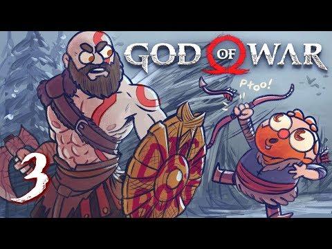 God of War HARD MODE (God of War 4) Part 3 - w/ The Completionist