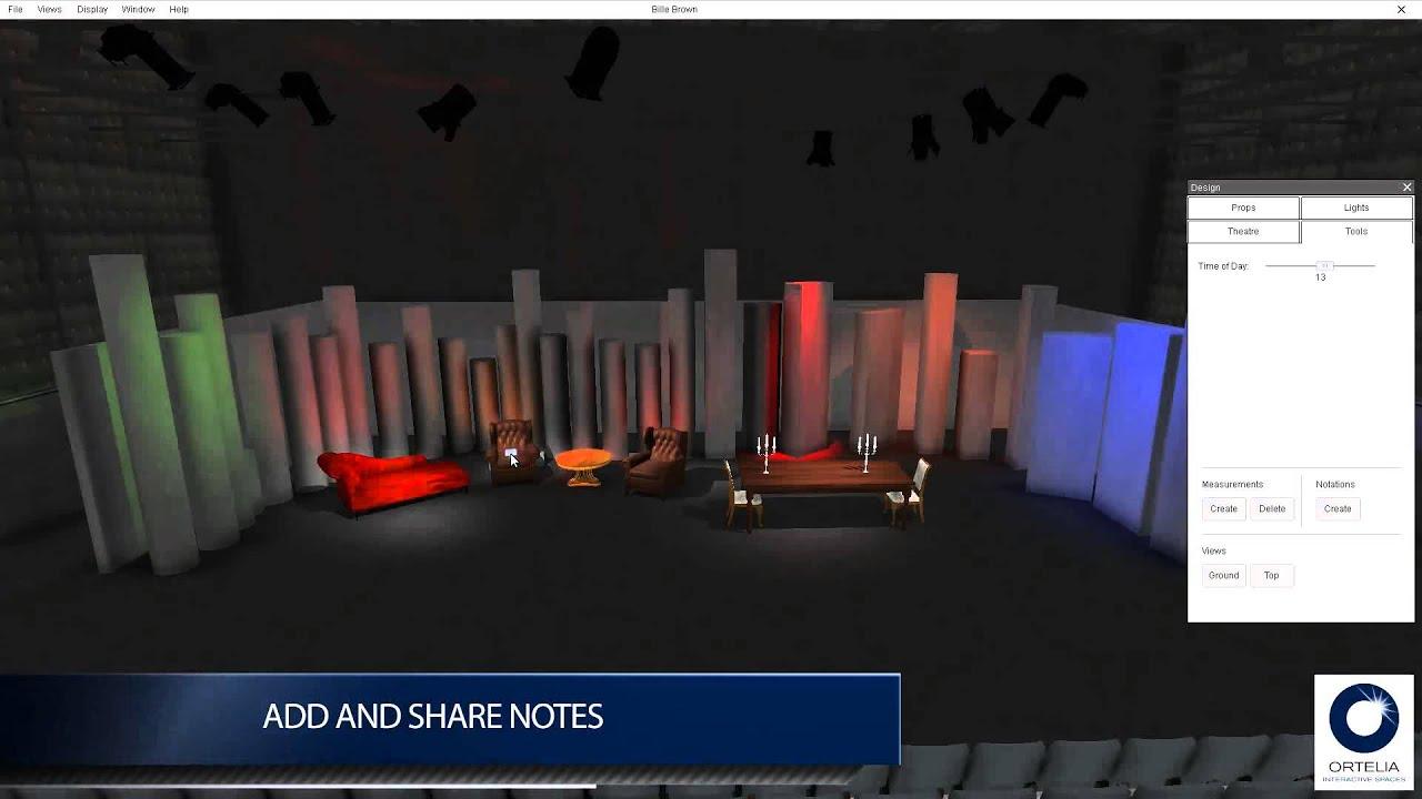 Ortelia Ortelia Virtual Set Designer
