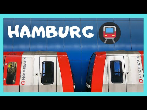 HAMBURG, EXPLORING the wonderful METRO (subway, underground), GERMANY