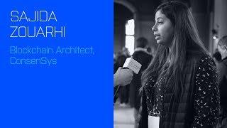 Sajida Zouarhi, Blockchain Architect at Consensys, talks about Linnia and UX on Ethereum