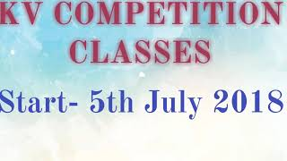 KV educational classes indroduction vedio