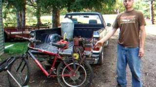 bicycle with 3 hp briggs engine motorized bike 44mph