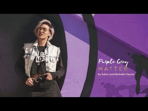 #BlushingBlondes How-To: Create a Purple Grey Matter Look featuring Adam Ciaccia | Matrix