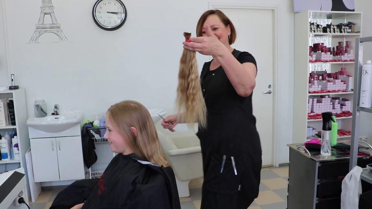 Hiukset Hyväntekeväisyyteen