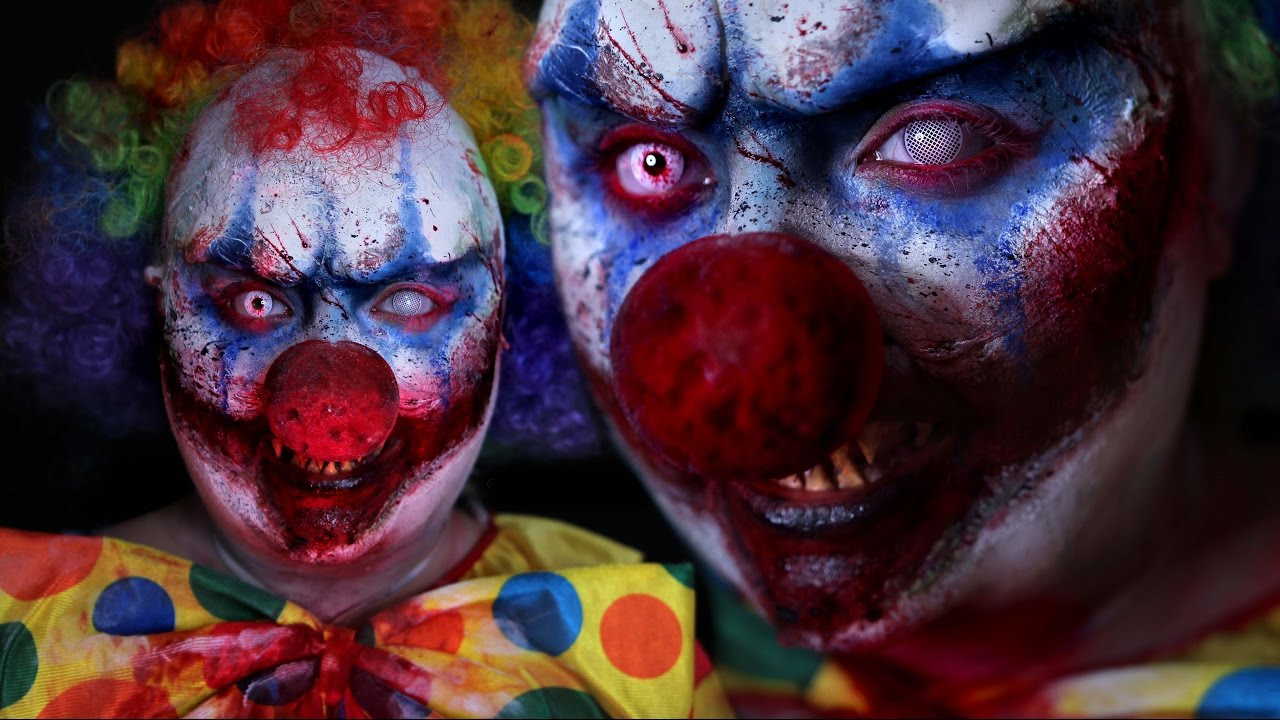killer clown halloween costume makeup tutorial 31 days of