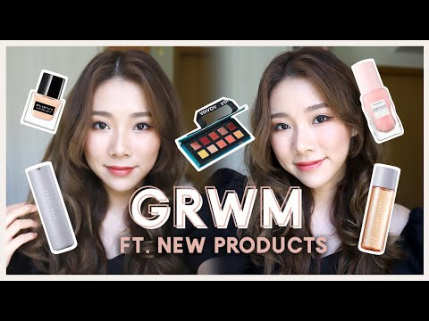 GET READY WITH ME + NEW IN PRODUCTS. FIRST IMPRESSIONS: Fenty Skin, NARS And More!   MONGABONG