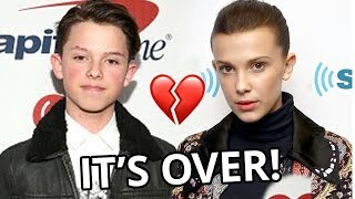 MILLIE BOBBY BROWN & JACOB SARTORIUS RESPOND TO BREAK UP!