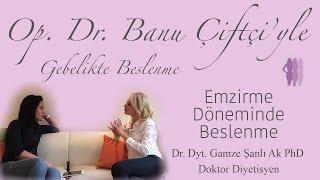 Emzirme Döneminde Beslenme - Dr. Dyt. Gamze Şanlı Ak