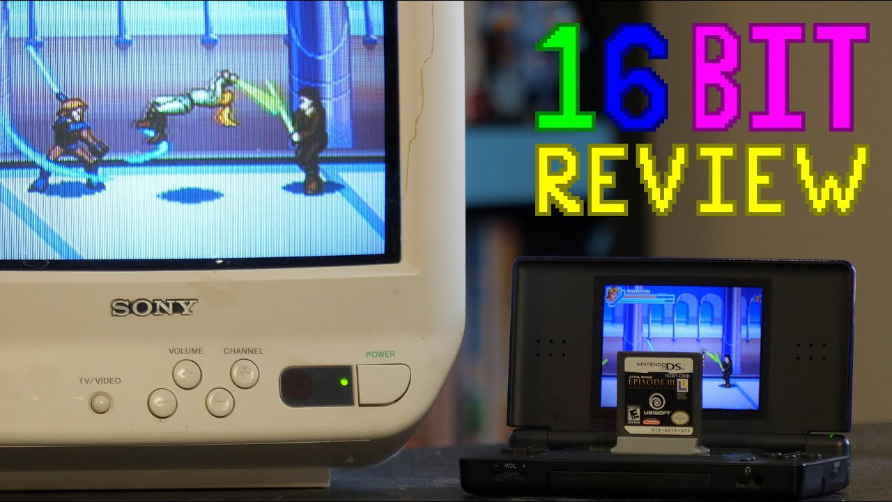 Star Wars Episode Iii Revenge Of The Sith Nintendo Ds Review 16 Bit Game Review Youtube