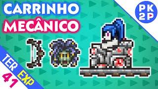 Mechanical Cart, Medusa Head e Marrow! • Terraria 1.3 Expert #41