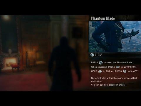 Assassin's Creed Unity Get Phantom Blade