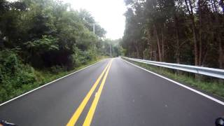 Cycling Bucks county Dark Hollow road last 2+/- miles to river road