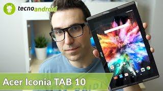 RECENSIONE ACER ICONIA TAB 10 il tablet con effetto sourround