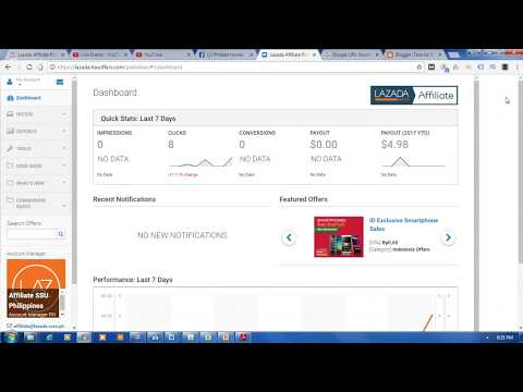 Lazada Philippines Affiliate Tutorial - How To Get Your Lazada Affiliate API Key For Your Deeplink?