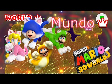 Super Mario 3D World: Mundo Corona