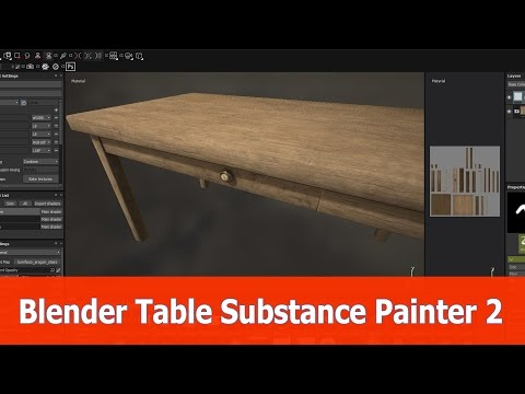 Substance Painter texture test by Hartproduktie