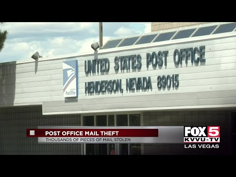 Mail Stolen From Two Henderson Post Offices