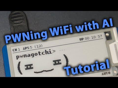 PWNing WiFi With AI   Pwnagotchi Setup/Tutorial thumbnail