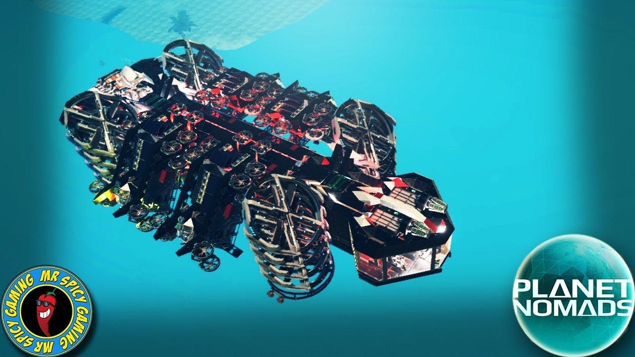 TESTER UN NOUVEAU DESIGN DE BASE MOBILE ET PLUS - Planet Nomads Gameplay S2 Ep16 + vidéo