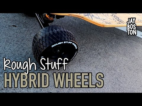 AT STREET HYBRID WHEELS FOR ELECTRIC SKATEBOARDS - SLICK REVOLUTION