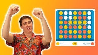 Winning at Connect 4 for an Hour Straight!