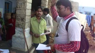 Telangana Netizens Campaign @ Kollapur on march 10 2012 to vote for Telangana