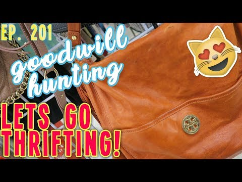 LET'S GO THRIFTING  GOODWILL HUNTING EP. 201