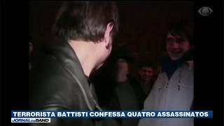 Cesare Battisti admite assassinatos pela primeira vez
