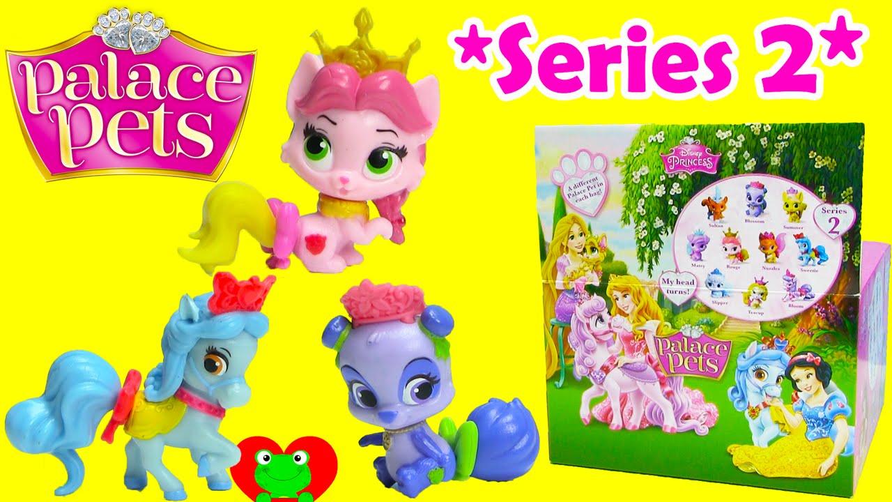 c4f9f5ba020 Disney Princess Palace Pets Blind Bags Series 2 - YouTube